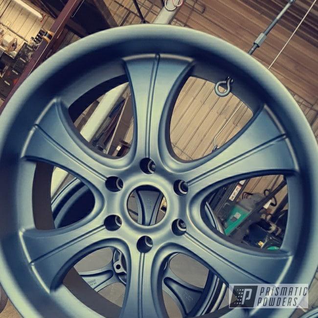 Powder Coating: Wheels,FORGED CHARCOAL UMB-6578,Rims,Aluminum Rims,Casper Clear PPS-4005