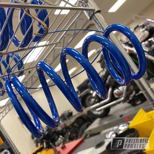 Powder Coating: Wheels,1000,Springs,RZR,Aluminum Wheels,Illusion Blue-Berg PMB-6910,Polaris RZR,Coils,Clear Vision PPS-2974,Rims,side by side,Polaris,900,Illusions