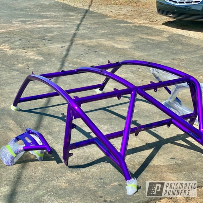 Powder Coating: Illusion Purple PSB-4629,4x4,Clear Vision PPS-2974,ATV,2 Stage Application