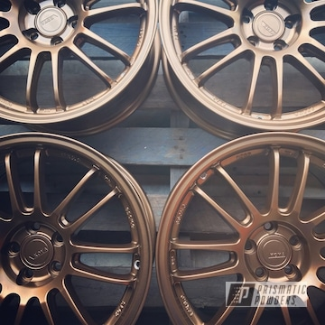 Powder Coated Koya Rims In Highland Bronze