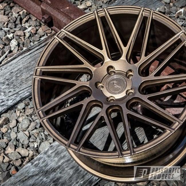 Koya Wheels In Gold Rubbed Bronze Powder Coat