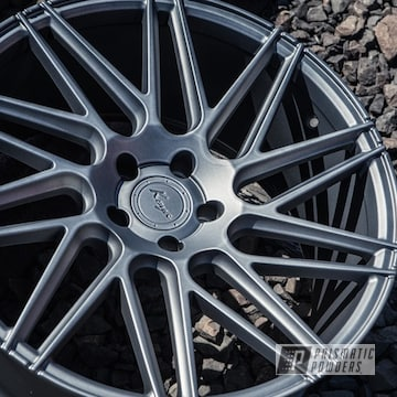 Koya Wheels In Matte Gravel Grey Powder Coat