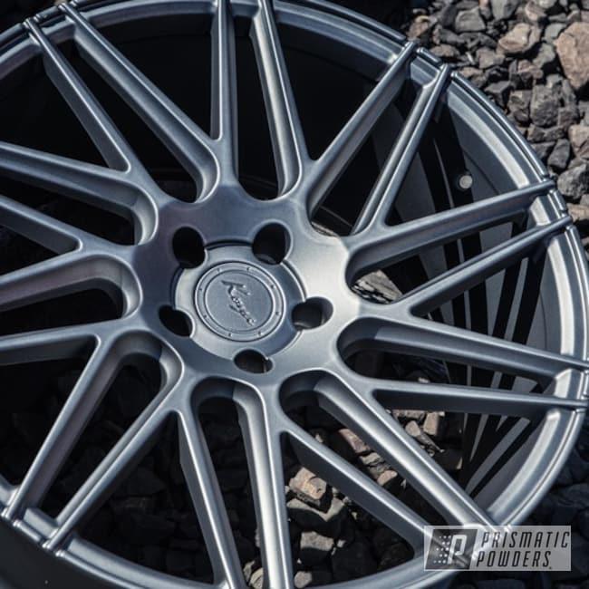 Koya Wheels In Matte Gravel Grey Powder Coat