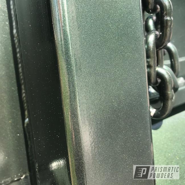 Powder Coating: Automotive,Belbou,Misty Emerald PMB-1006,Truck Bed