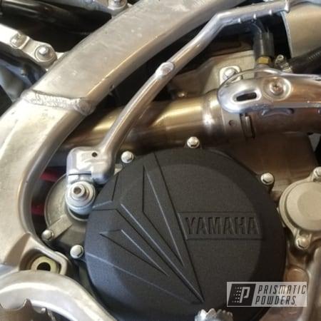 Powder Coating: yz450,Motorcycle Parts,Yamaha,Black Satin Texture PTB-7102