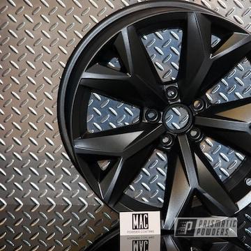 Powder Coated Audi Wheel In Umb-1204