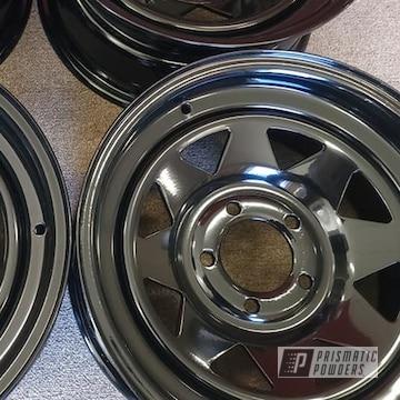 Powder Coated Wheels In Uss-2603