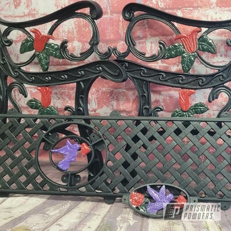 Powder Coating: Multi Color Application,BLACK JACK USS-1522,Patio Furniture,Vintage Bench,Outdoor Bench,Patio Bench,RAL 3002 Carmine Red,RAL 6009 Fir Green,Outdoor Patio Furniture,Crimson Purple PMB-2054
