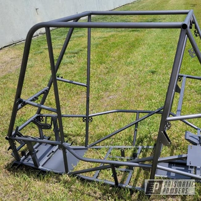 Powder Coating: ATV Frame,Racing Chassis,Baja Racing,STEALTH CHARCOAL PMB-6547,Baja Frame