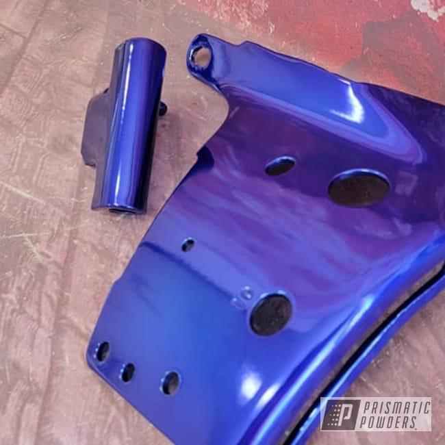 Powder Coating: Automotive,Super Chrome,Transparent Colors,Intense Blue PPB-4474,Automotive Parts