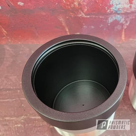 Powder Coating: Automotive,STERLING BLACK UMB-1204,Cup Holders,Automotive Parts,Custom Machined