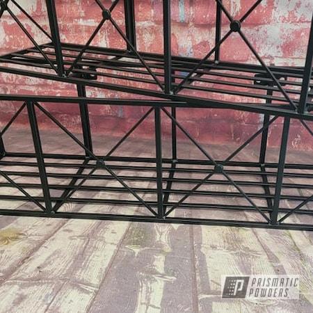 Powder Coating: BLACK JACK USS-1522,Custom Planter Boxes,Outdoor Decor,Flower Planter Frames,Flower Planters,Custom Iron