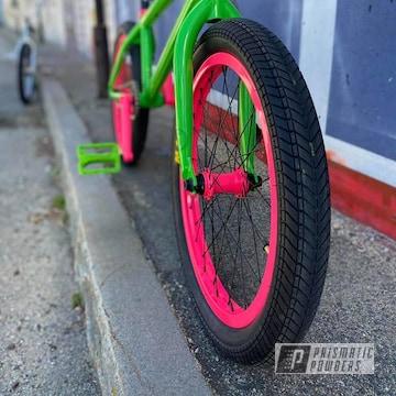 Powder Coated Custom Bmx Bike In Pps-2974, Psb-5790 And Pss-3063