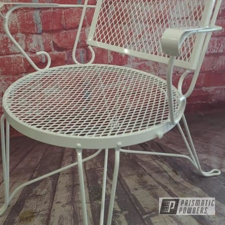 Powder Coating: Patio Chairs,Chairs,Outdoor Furniture,Patio Chair,Lawn Chairs,Gloss White PSS-5690,Outdoor Patio Furniture,lawn furniture,vintage patio chair