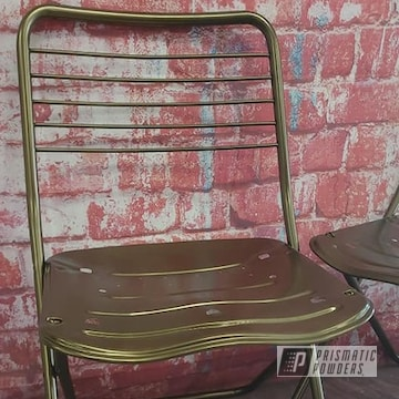 Powder Coated Folding Chairs In Pmb-5860