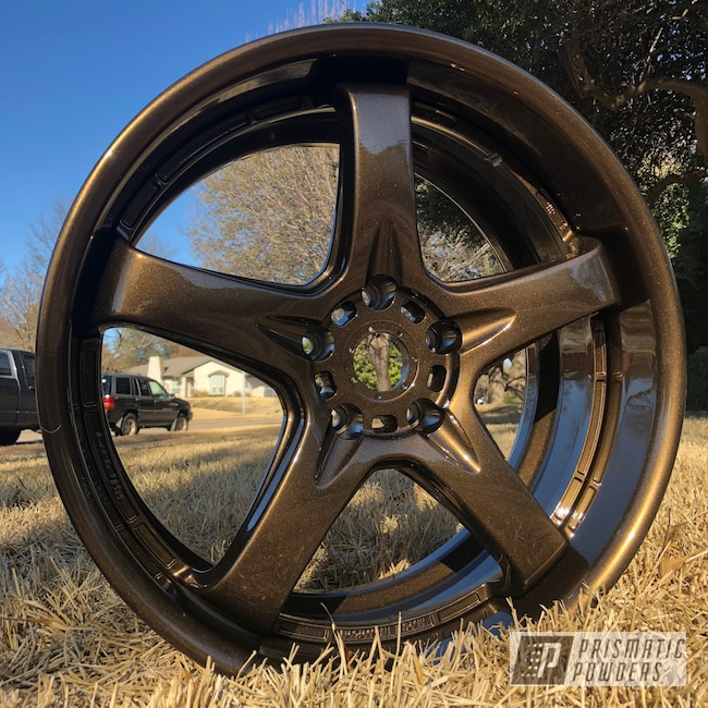 Powder Coating: Wheels,Bronze Chrome PMB-4124