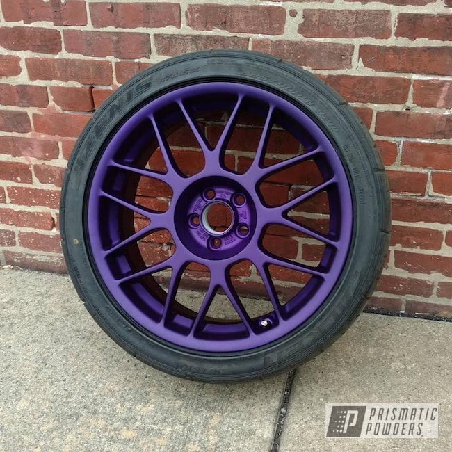 Powder Coating: Illusion Purple PSB-4629,Wheels,Custom Wheels,Casper Clear PPS-4005