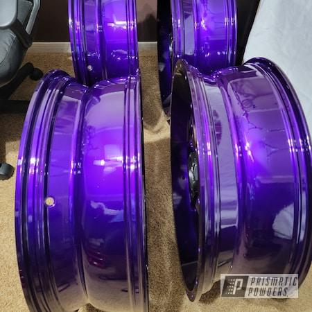 "Powder Coating: Illusion Purple PSB-4629,Wheels,Clear Vision PPS-2974,Rims,24"",Aluminum Wheels"