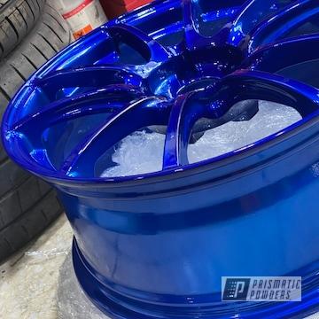 Powder Coated Wheels In Ups-2502