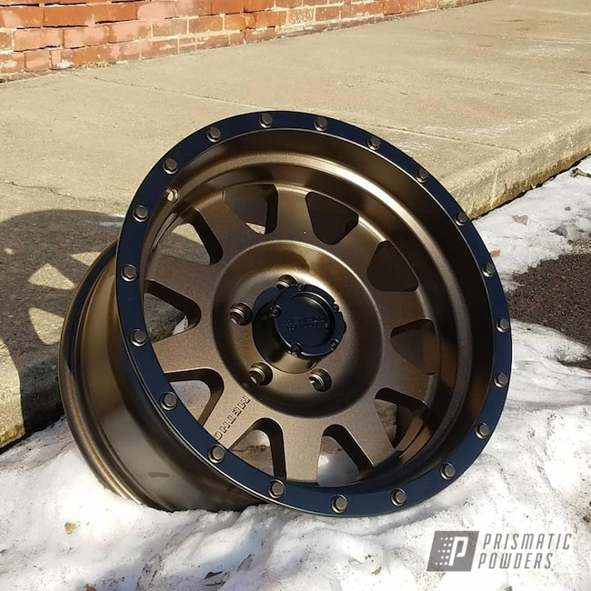 Powder Coating: Wheels,BLACK JACK USS-1522,TRIPLE BRONZE UMB-4548,Two Tone Wheels