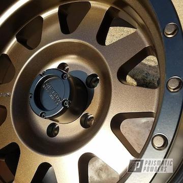 Triple Bronze And Black Jack On Custom Two Tone Wheels