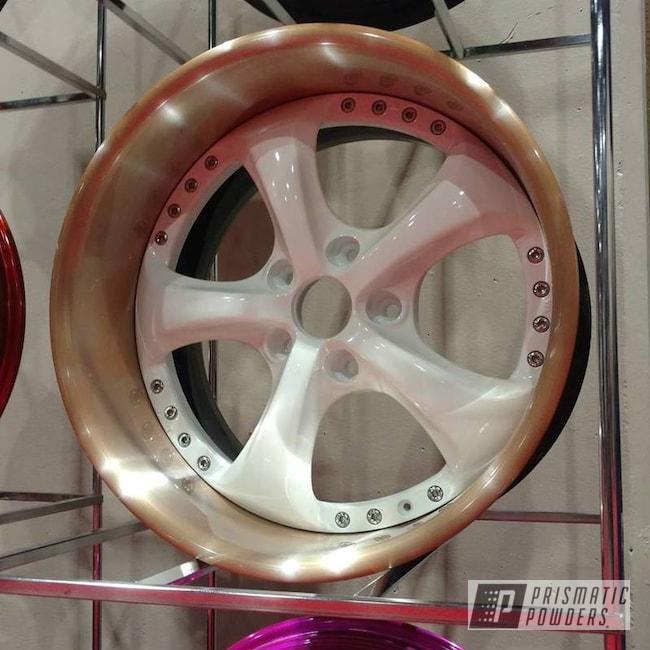 Powder Coating: Wheels,Custom Wheels,RAL 9016 Traffic White,Fools Penny PPB-5120