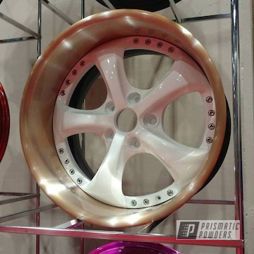 Fools Penny And Ral 9016 On A Custom Wheel