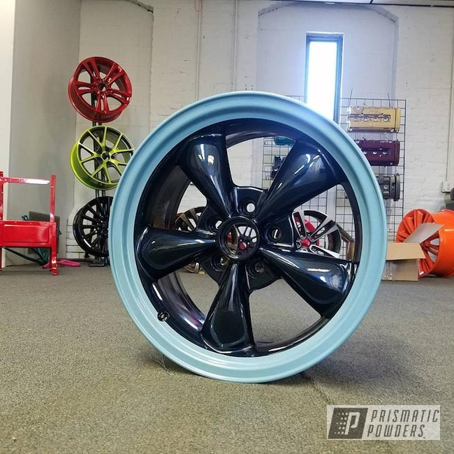 Powder Coating: Wheels,Clear Vision PPS-2974,Hollywood Blue PMB-1966,Two Tone Wheels,Misty Midnight PMB-4239