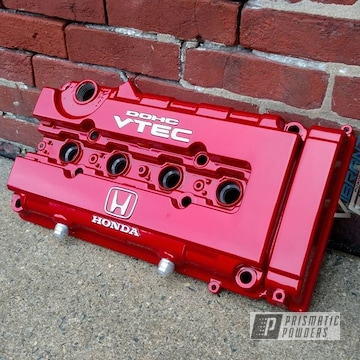 Clear Vision Over Illusion Red On Honda Vtec