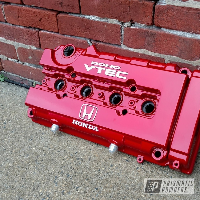 Powder Coating: Automotive,Clear Vision PPS-2974,Illusion Red PMS-4515