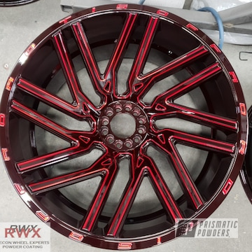 Powder Coated Tis Offroad Wheels In Ups-1506