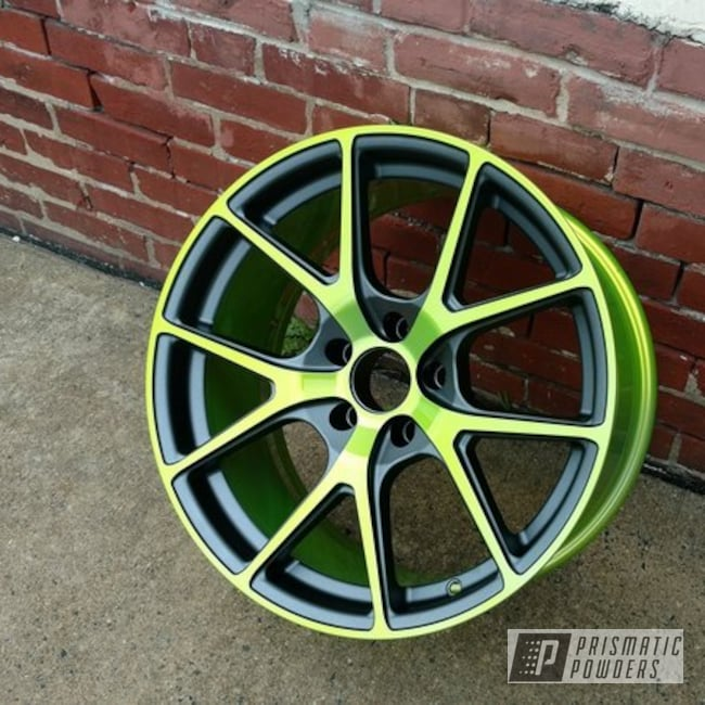 Powder Coating: Wheels,Stealth Charcoal PMB-6547,SUPER CHROME USS-4482,Two Tone Wheels,Shocker Yellow PPS-4765