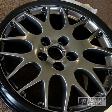 Powder Coated Wheels In Pmb-5027 And Hss-1336