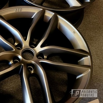 Powder Coated Two Stage Wheels In Pmb-4124 And Pps-4005