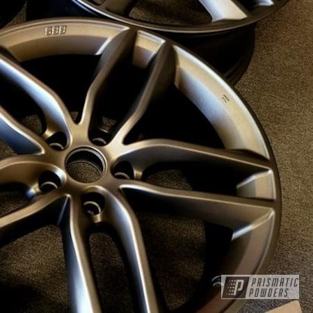 "Powder Coating: Wheels,Automotive,Two Stage Application,Rims,Bronze Chrome PMB-4124,Aluminum Rims,2 Stage Application,18"" Aluminum Rims,Automotive Rims,Casper Clear PPS-4005,Automotive Wheels,Aluminum Wheels"