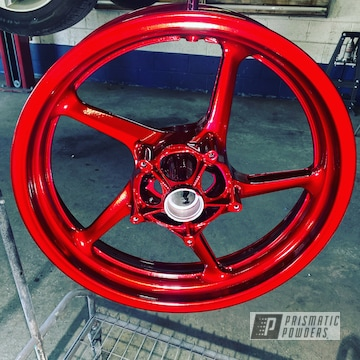 Powder Coated Motorcycle Wheels In Hss-2345 And Pps-4690