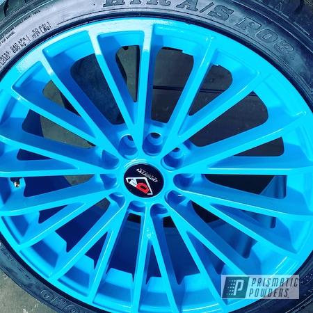 "Powder Coating: Wheels,Custom,Rims,Throw Back Blue PSS-6844,Dodge,18"" Aluminum Rims,Aluminum Wheels"