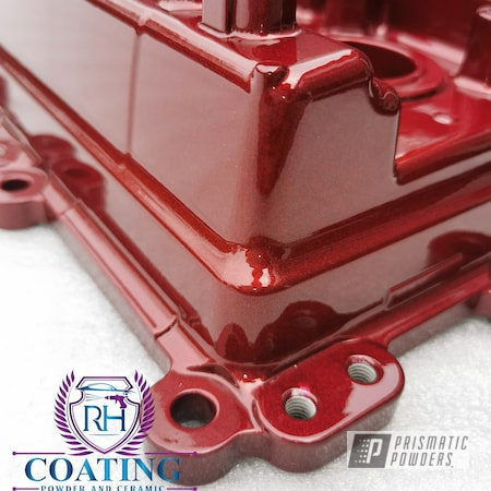Powder Coating: Head,Automotive,Clear Vision PPS-2974,Timing Chain,Misty Burgundy PMB-1042,Illusion Cherry PMB-6905,Block,Engine Parts,Cover