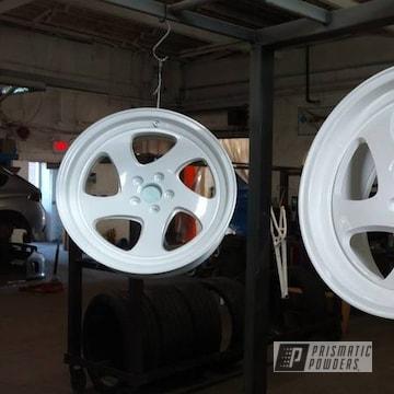 Ral 9016 On Custom Wheels