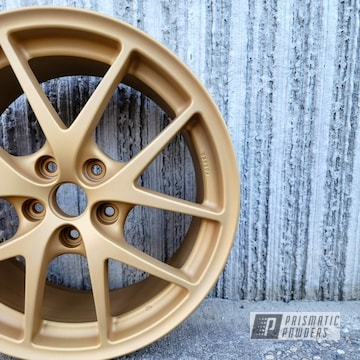 Powder Coated Wheels In Pmb-6625 And Pps-4005