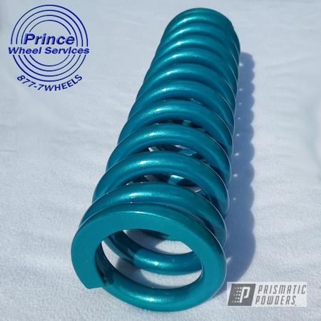 Powder Coating: Suspension Parts,Clear Vision PPS-2974,Illusion Tropical Fusion PMB-6919,Springs,Suspension