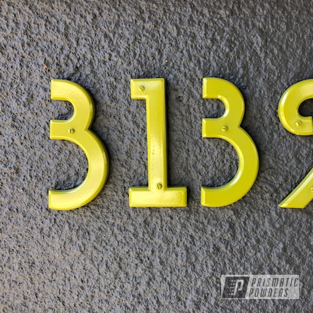 Powder Coating: House Decor,HOUSE,BULLFROG BELLY PSB-6798,Home Decor,House Numbers,Household