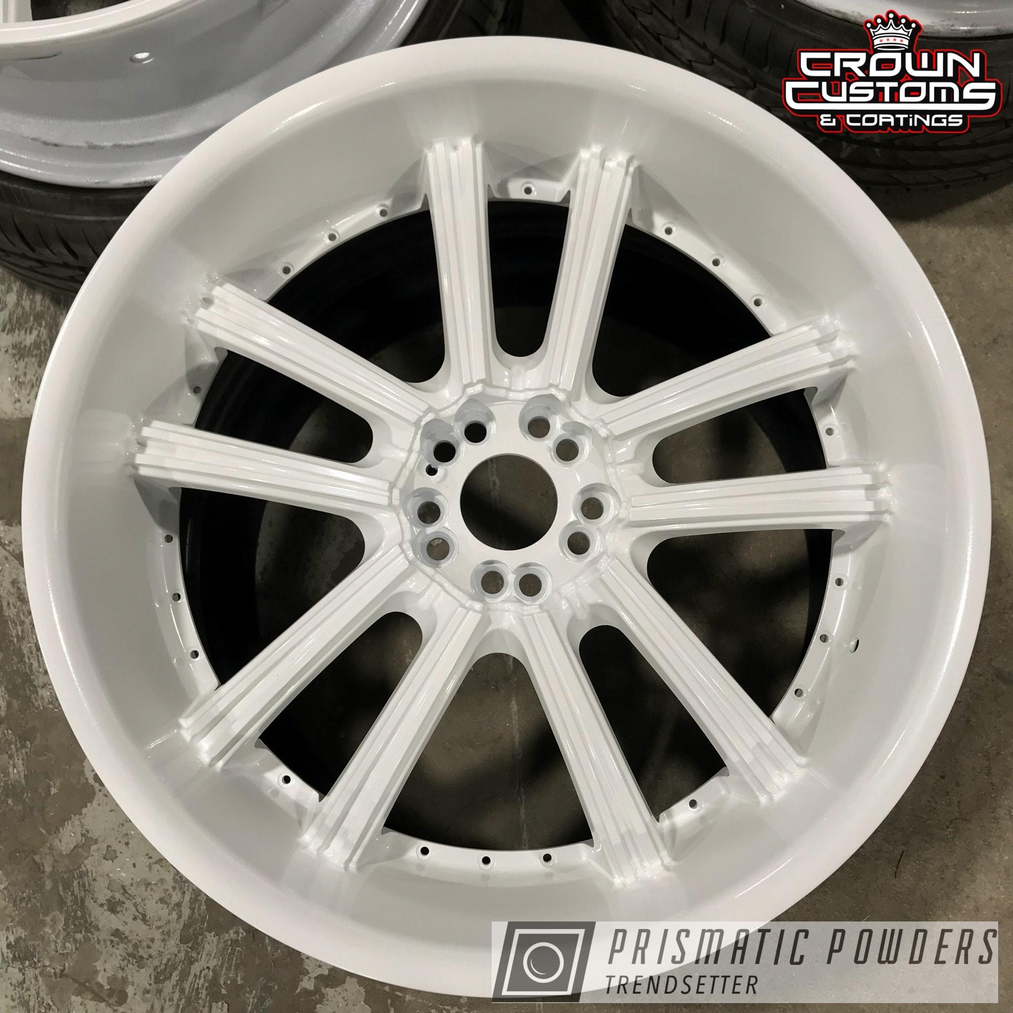 Powder Coating: Wheels,Pearlized White II PMB-4244