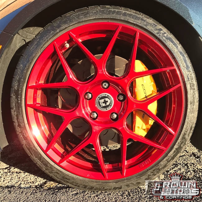 Powder Coating: Wheels,Red,Deep Red PPS-4491