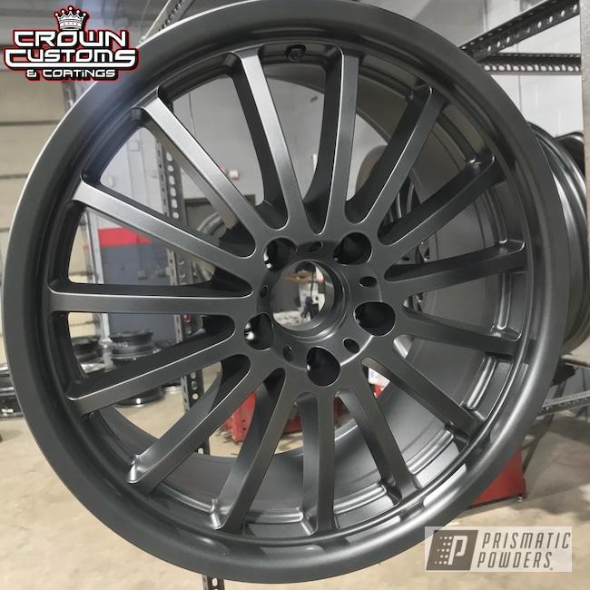 Powder Coating: Wheels,Evo Grey PMB-5969,Custom Wheels,Grey