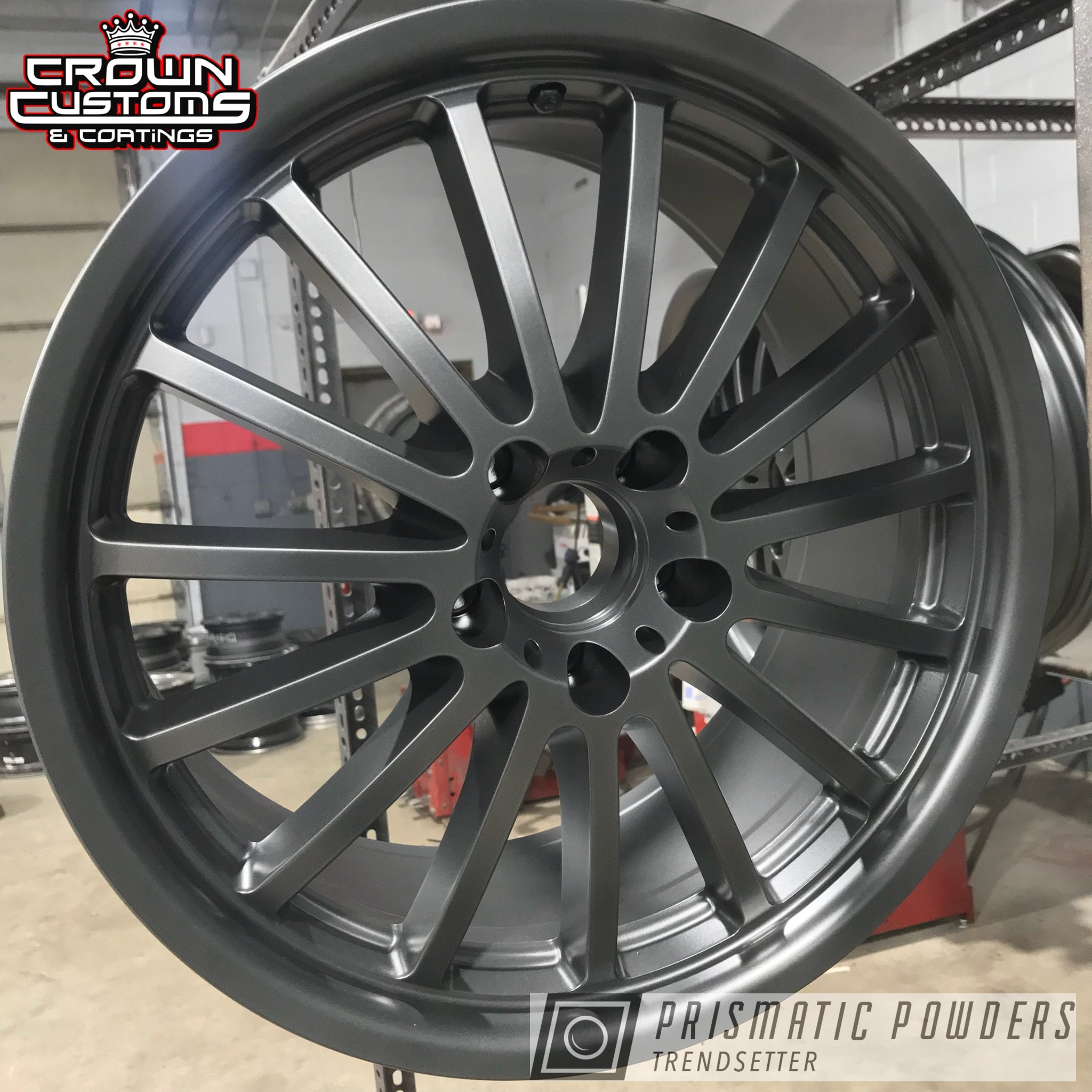 Powder Coating: Wheels,Evo Grey PMB-5969,Custom Wheels,grey