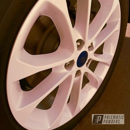 "Powder Coating: Wheels,Automotive,Rims,17"" Aluminum Rims,East Side Pearl Red PMB-5903,Ford,Aluminum Wheels"