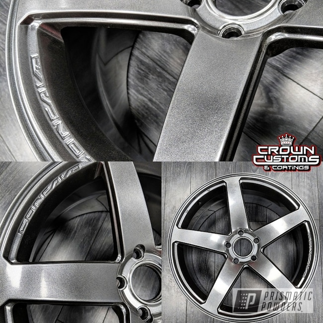 Powder Coating: Wheels,Kingsport Grey PMB-5027
