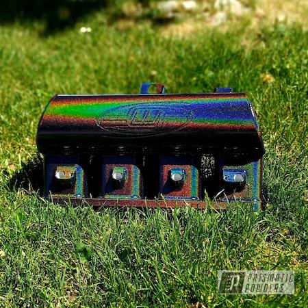 Powder Coating: Intake Manifold,Automotive,Rainbows,Mazda,Intake,Miscellaneous,Prismatic Universe PMB-10367,Mazdaspeed