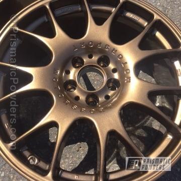 Bbs Wheels In Bronze Chrome